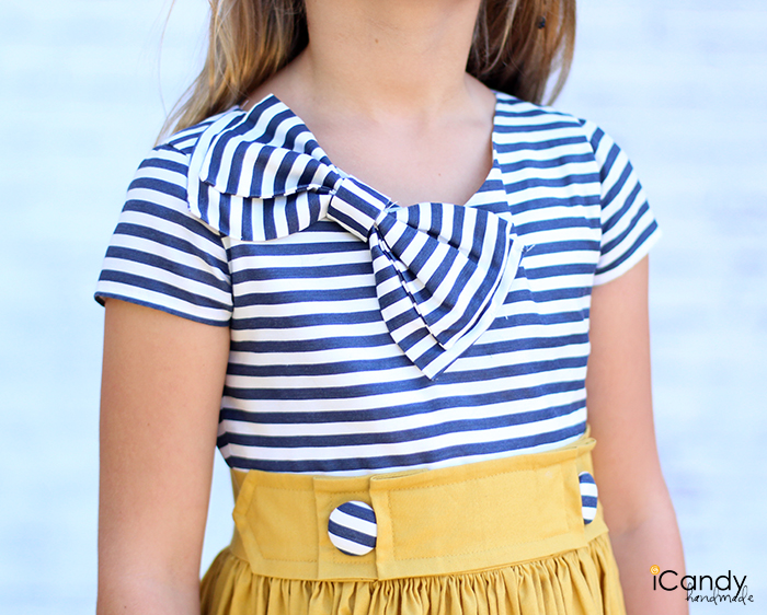 DIY Sailing into Autumn Dress