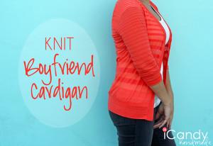 #fbf Knit Boyfriend Cardigan
