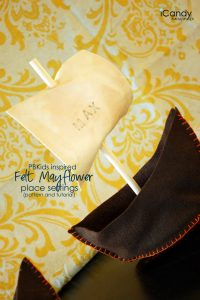 Felt Mayflowers (flashback)