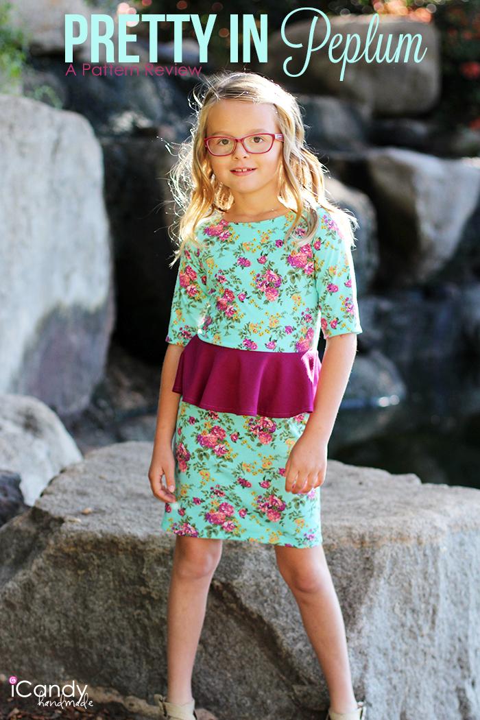 iCandy Pretty in Peplum Dress Main