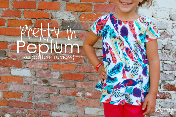 Pretty in Peplum Pattern Review / Girl Charlee Giveaway!
