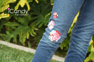 DIY Make-It-Work-Week: Flower Patch Jeans