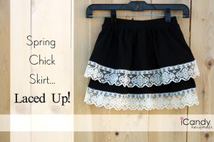 Spring Chick Skirt…Laced Up