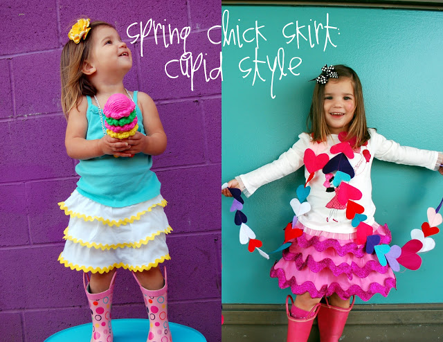Spring Chick Skirt Valentine's Style