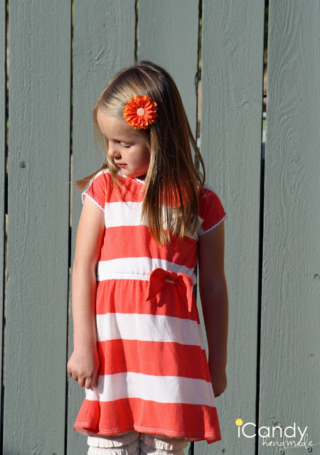 DIY JCrew Knockoff: Stripe Relay Dress