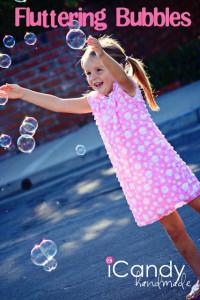 Fluttering Bubbles