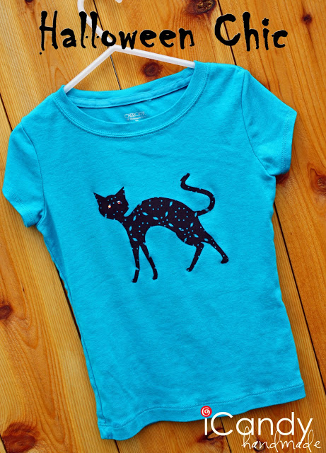 DIY Halloween Chic T-Shirt