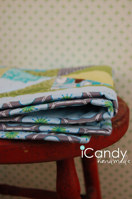 DIY binding a quilt