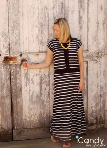 DIY Hint of Vintage Maxi Dress