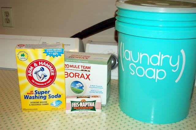 DIY Homemade Laundry Soap