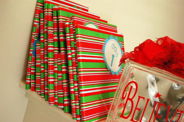 Children's Christmas Book Countdown (1-10)