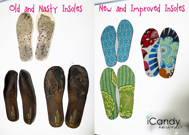 DIY Make-It-Work-Week: New Shoe Insoles