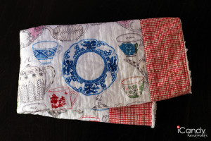 DIY Quilted Kitchen Towels