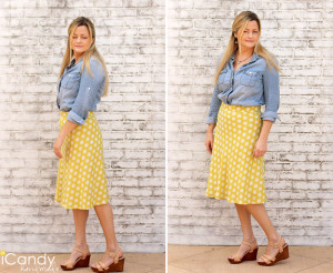 DIY Quarter Circle Skirt