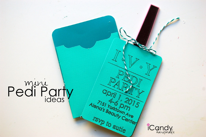pedi party invites copy