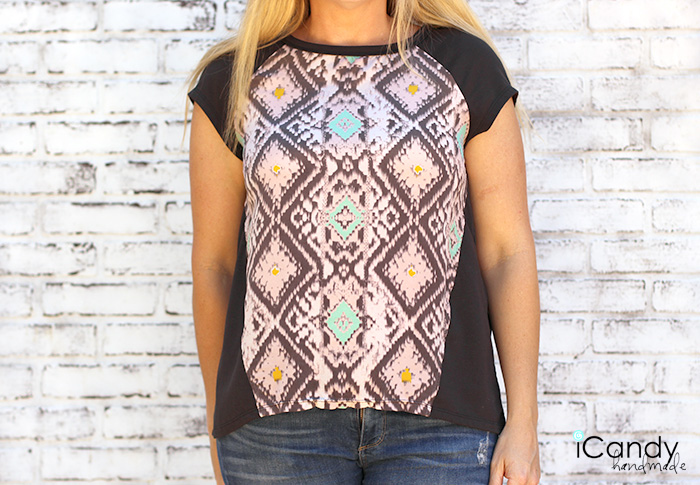 DIY Raglan Top – McCalls 7093 Pattern Review