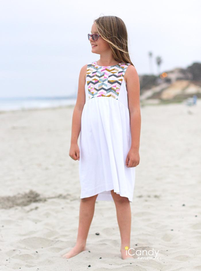 iCandy Contrast Bib Dress 6