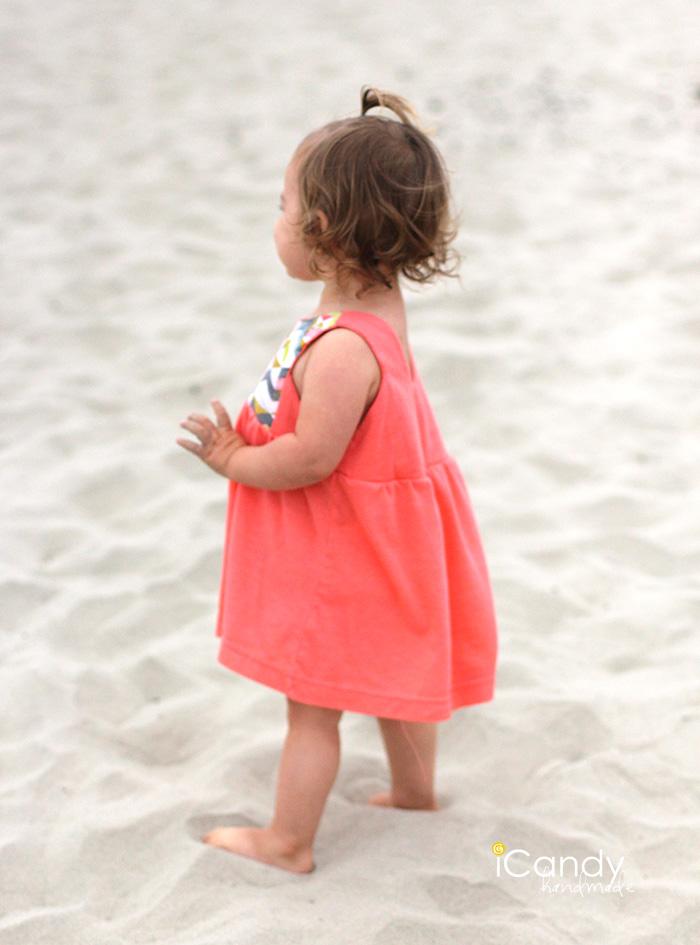iCandy Contrast Bib Dress 8