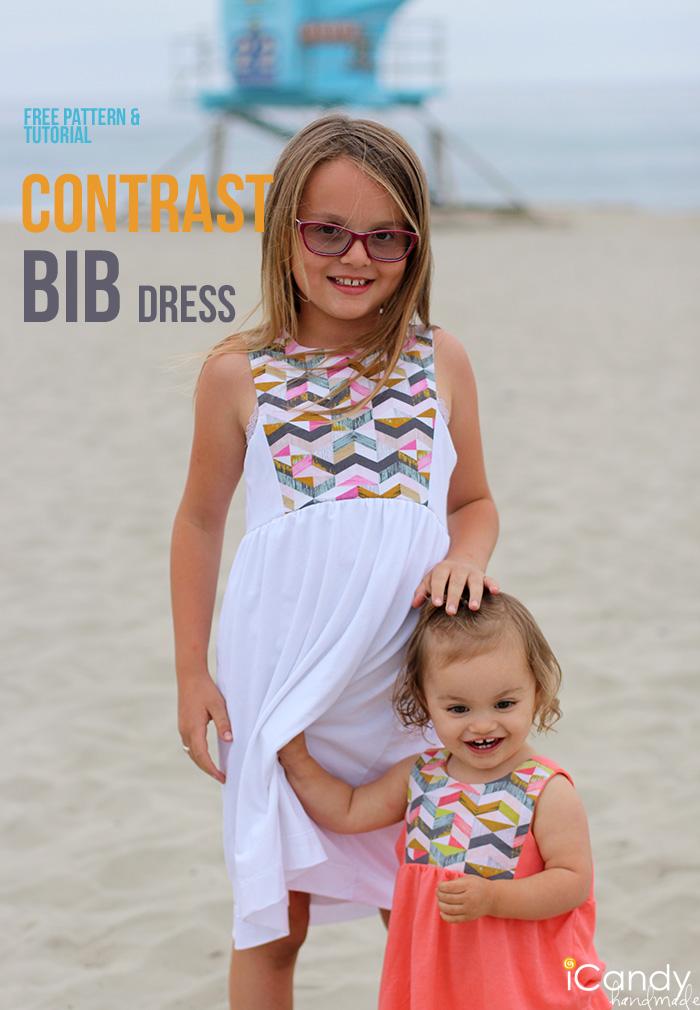 iCandy Contrast Bib Dress
