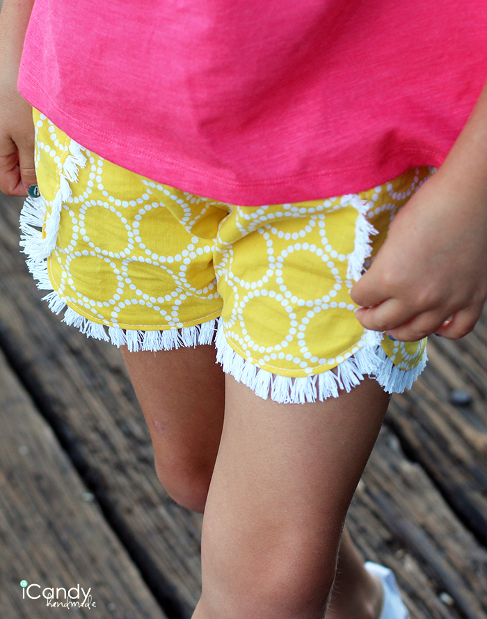 iCandy DIY Kids Shorts Coachella Close