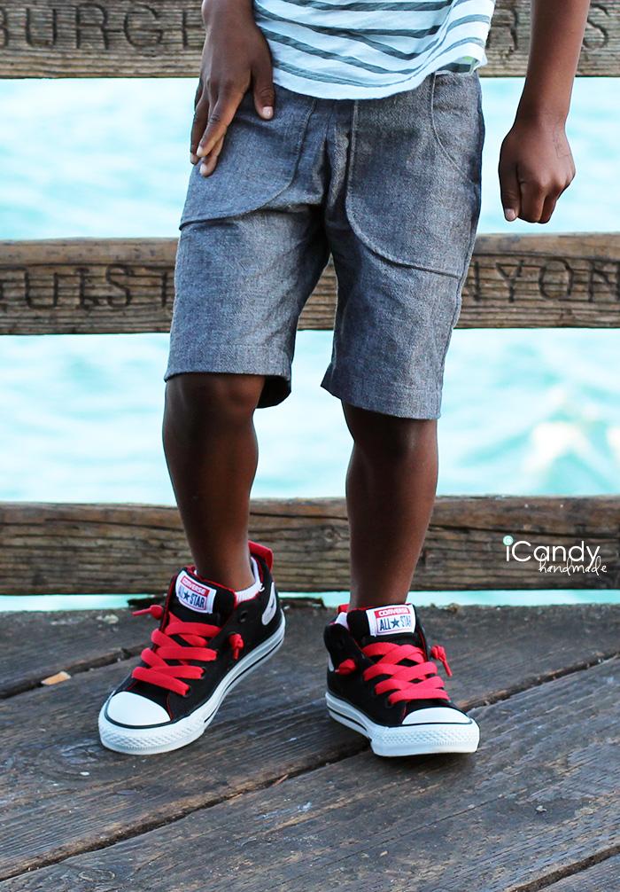 iCandy DIY Kids Shorts MADE Close
