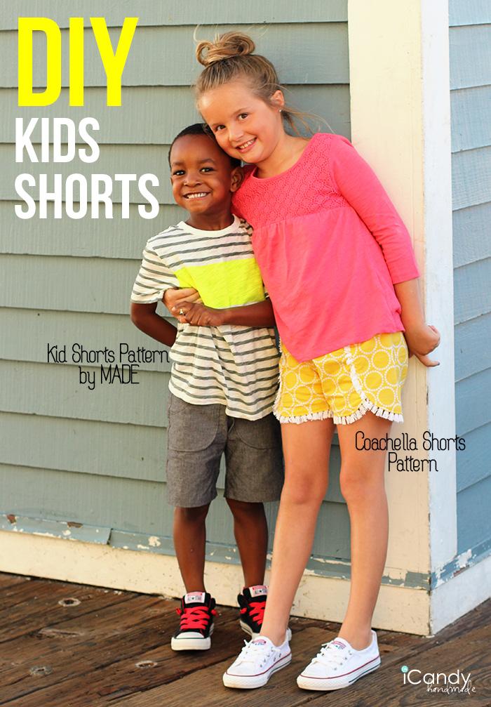 iCandy DIY Kids Shorts