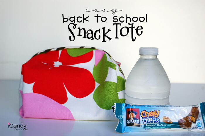 easy Back-to-School Snack Totes
