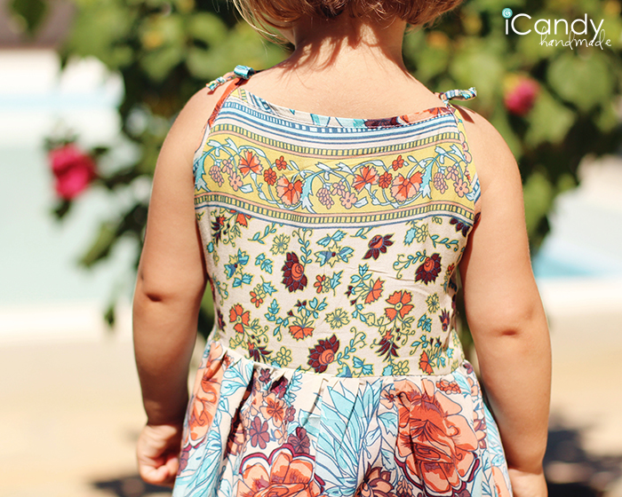 DIY Repurposed Little Sundress